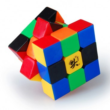 Dayan V Zhanchi 3x3x3 Stickerless 6-Color Black