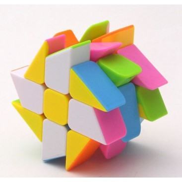 Moyu Crazy Windmill 3x3x3 Magic Cube. Black Base