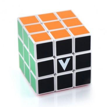 V-Cube 3 Flat Magic Cube. White Base