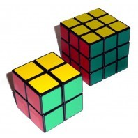 STUDENT LOT: 2x2 cube + 3x3 cube