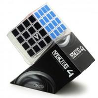 V-Cube 4 Flat 4x4x4 Magic Cube. White Base