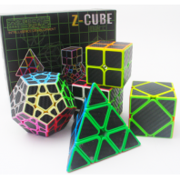 Lot Z-Cube 5 Carbon Fiber Cubes
