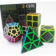 Lote Z-Cube 5 Cubos fibra carbono