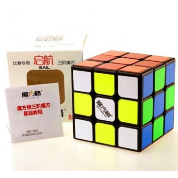 QiYi Qihang 3x3x3 Magic Cube 68mm. Weisse Basis