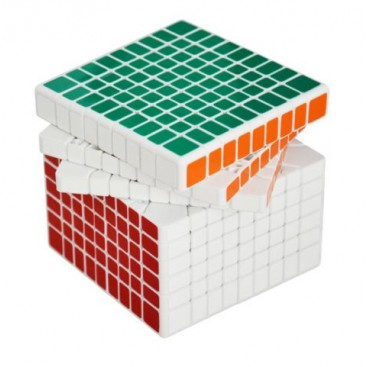 Shengshou 9x9 Magic Cube. White Base
