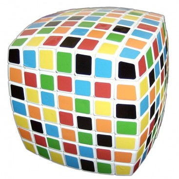V-Cube 7x7x7 Magic Cube. White Base