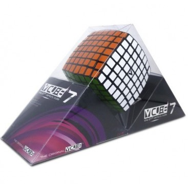 V-Cube 7x7x7 Magic Cube. Black Base