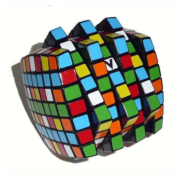 V Cube v cube 7x7x7 magic cube black base maskecubos com