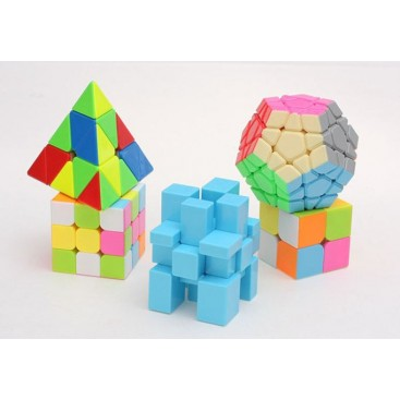 LOTE Z-CUBE 5 CUBOS STICKERLESS
