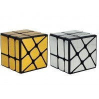 Moyu Crazy FengHuoLun Windmill 3x3x3 Magic Cube. Black Base