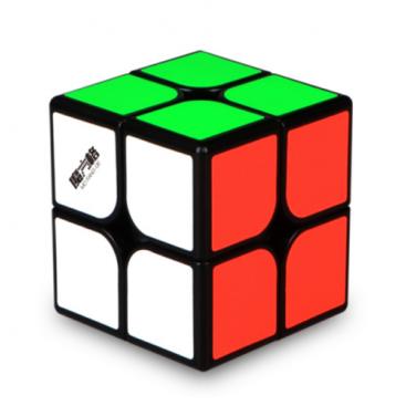 Qiyi Cavs 2x2 Magic Cube. Noir base de