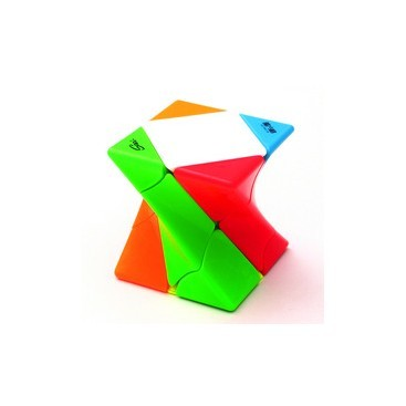 Qiyi Twisty Skew Speed Cube  Stickerless