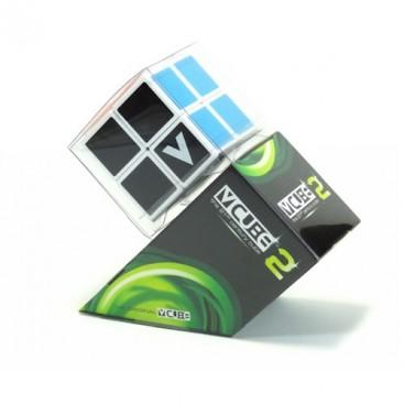 V-Cube 2x2 Magic Cube 2 Flat. White Base