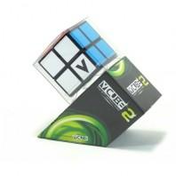 V-Cube 2 Flat. Base Negra. Cubo 2x2 Vcube.