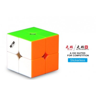 QiYi WUXIA 2x2 MAGNETICO STICKERLESS