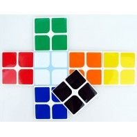 2x2 Stickers Standard Set. Magic Cube Replacement