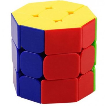 Z-Cube Octagonal 3-Layer Cylinder Cube