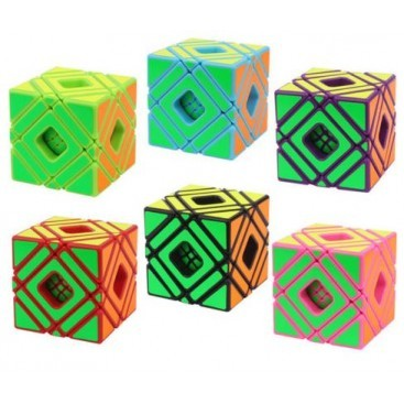 Yuxin Pink Monochrome 3x3x3 Cubo Mágico