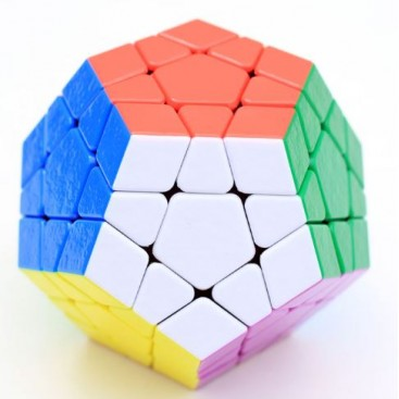 Dayan Megaminx 12x12 Stickerless White
