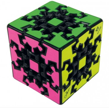 3x3 Gear Cube. 3x3x3 magic cube Gear Black Base