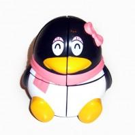Pingüina cubo mágico 2x2.