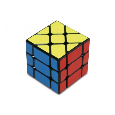 YJ Fisher Windmill 3x3x3 Magic Cube. Black Base