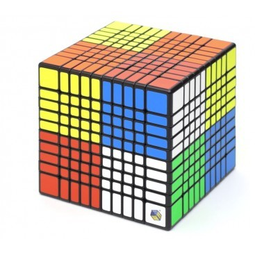 Shengshou 10x10 Magic Cube. Black Base