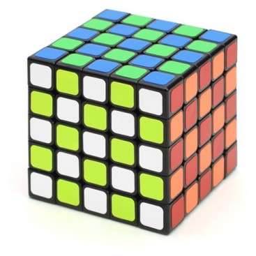 Shengshou 5x5x5 Magic Cube. Black Base