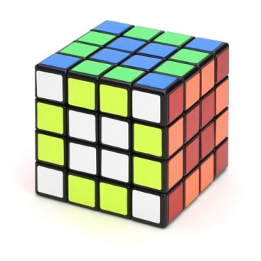 Cubo mágico Shengshou 4 x 4 x 4. Base preta