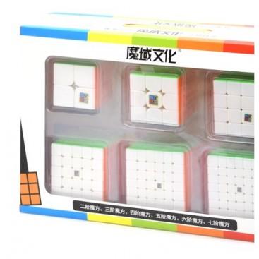 Pack Moyu Cubing Classroom 6 Stickerless