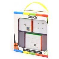 Cubing velocidade muito Iniciação 3 cubos