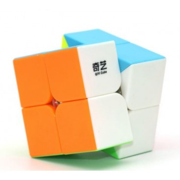 QiYi CAVS 2x2 Magic cube. Stickerless