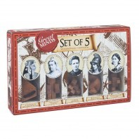 SET OF 5 INGENIOUS GAMES IN WOOD - THE 5 GREAT LADIES