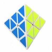 Shengshou Pyraminx Pirámide Mágica. Base Blanca