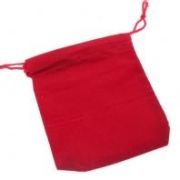 Sachet rouge de Velours pour Cubes Magiques