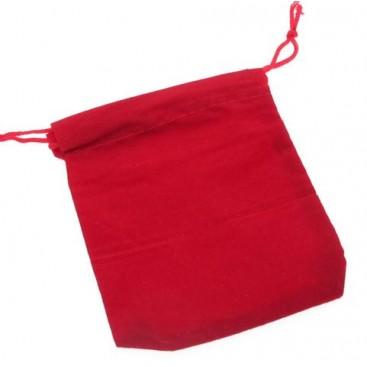 Bolsa roja de terciopelo para Cubos Mágicos