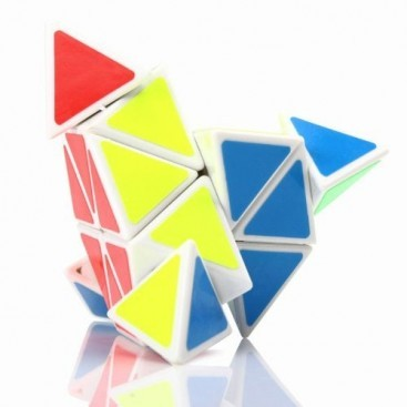 Shengshou Pyraminx Magic Minx. White Base