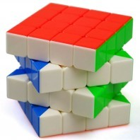 CUBE SHENGSHOU 4 x 4 shaft of ball. WHITE BASE.
