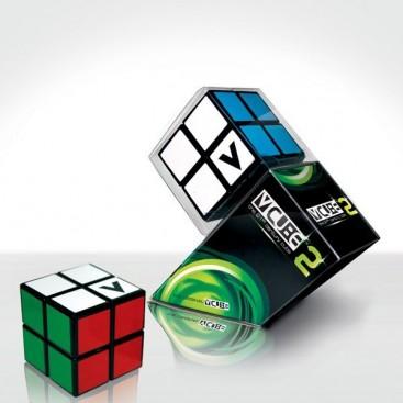 V-Cube 2 Flat. Base black. Cube 2 x 2 Vcube.