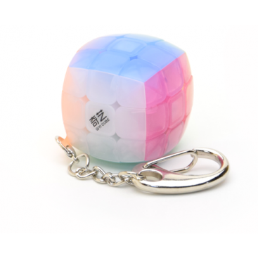 QIYI 3X3 KEYCHAIN STICKERLESS