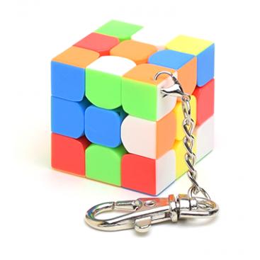 Moyu Keychain 3x3 stickerless 35mm
