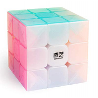 QIYI JELLY LLAVERO 3X3 STICKERLESS