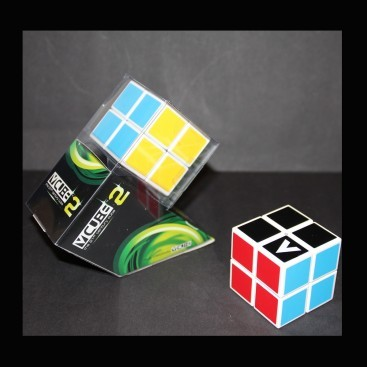 V-Cube 2x2 Magic Cube 2 Flat. White Base