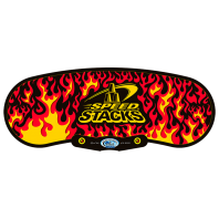 Speed Stacks Cubing Black Flames.Speedcubing Tapete
