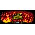 Speed Stacks Cubing Black Flames.Speedcubing Tapete