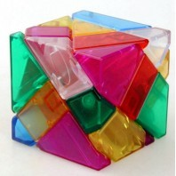 NINJA Ghost Cube 3X3 COLORS TRANSPARENT