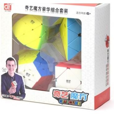 Pack Qiyi: Megaminx ,Skewb, Ivy, Pyraminx
