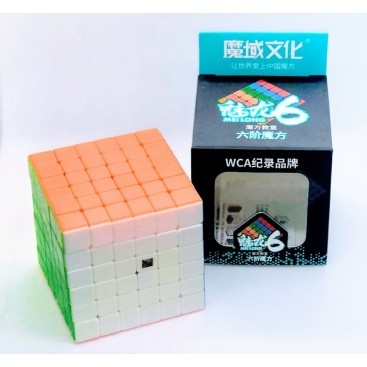 Qiyi Wuhua 6x6 Stickerless