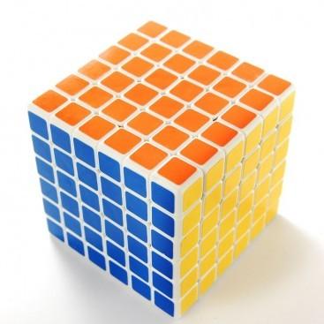 Bola de eixo SHENGSHOU cubo de 6 x 6. BASE BRANCA.