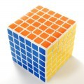 SHENGSHOU 6 x 6 cube axis ball. WHITE BASE.